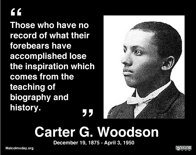 Carter G Woodson Black History Month